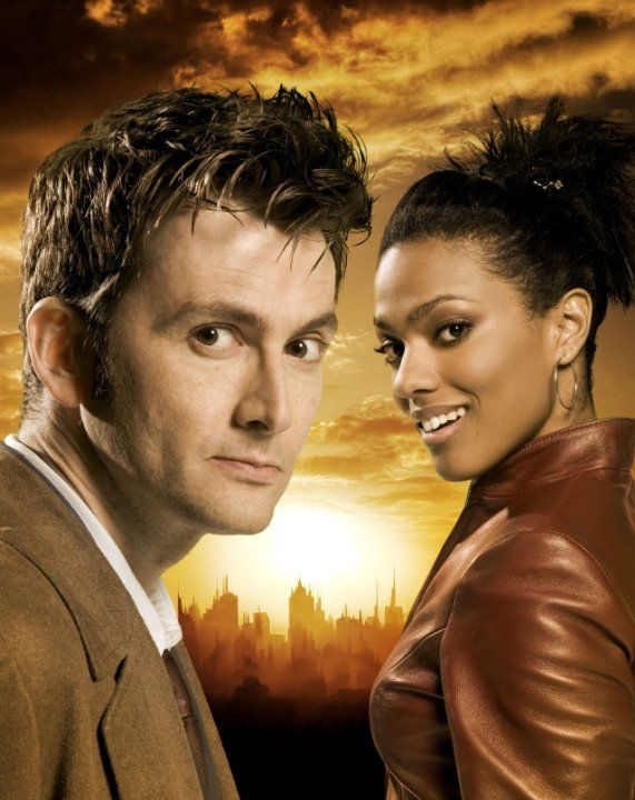 Pictures & Photos from Doctor Who (TV Series 2005– ) The Doctor and Martha Jones Love David Tennant's hair