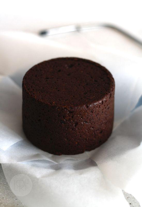 Tarta de cumpleaños de chocolate y calabacín (sin huevo y SIN LACTEOS)