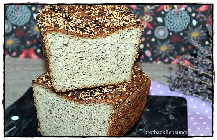Glutenfreies Kartoffel-Flocken-Brot brotbackliebeundmehr Foodblog