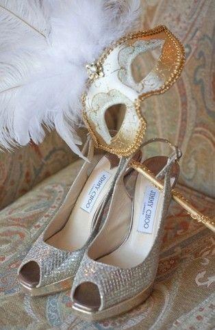 b2bfaa7b528 www.weddbook.com everything about wedding ♥ Jimmy Choo Sparkly Wedding Pumps   wedding  sparkle  mask  JimmyChoo
