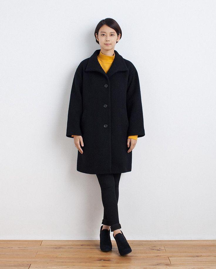 Autumn & Winter Women's Collection 27  ウール混ドビーコート  オーガニックコットンストレッチハイネック  スーパーストレッチデニムレギンス  起毛サイドゴアブーティ  MERINO WOOL MIX DOBBY COAT  ORGANIC COTTON STRETCH HIGH NECK  SUPER STRETCH DENIM LEGGINGS  BRUSHED SIDE GORE BOOTIES  #muji #無印良品 #coat #コート #boots #ブーツ #BOOTIE #ブーティ #denim #デニム #wool #ウール