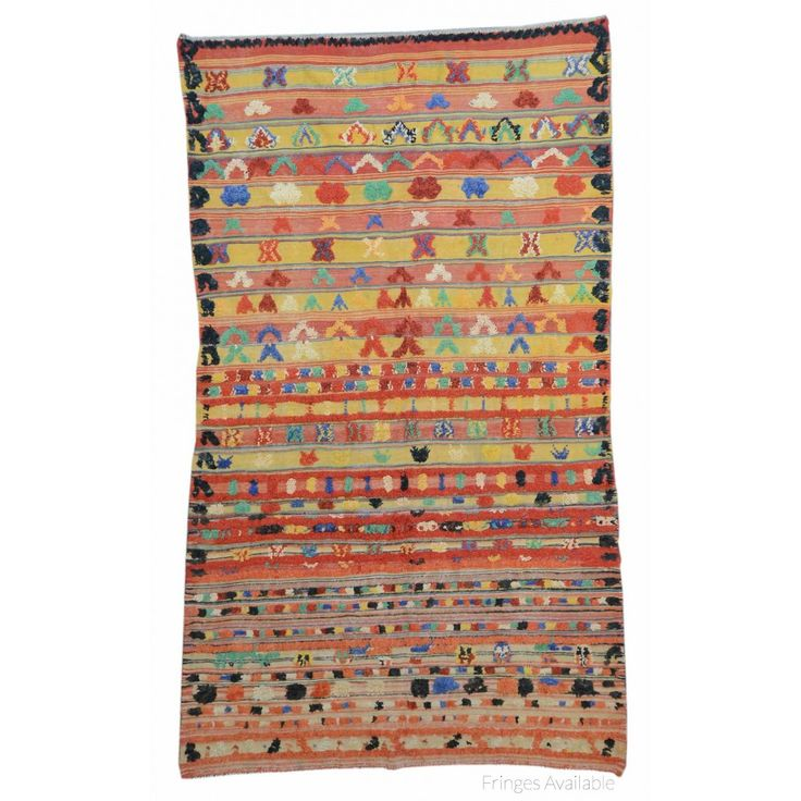 Vintage Moroccan Shag Rug X2954 on sale for $2000. Handmade Rugs, Vintage Rugs at Carpet Culture