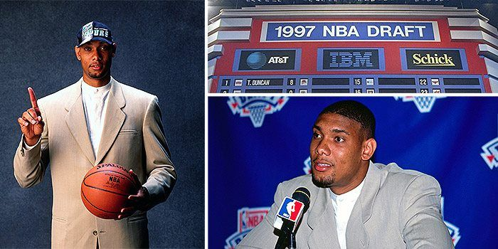 On this day, 18 years ago, the Spurs drafted Tim Duncan with the No. 1 pick in the 1997 NBA Draft.
