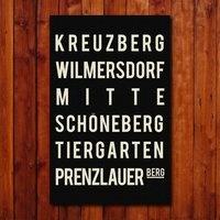 KREUZBERG WILMERSDORF MITTE SCHONEBERG TIERGARTEN PRENZLAUER BERG