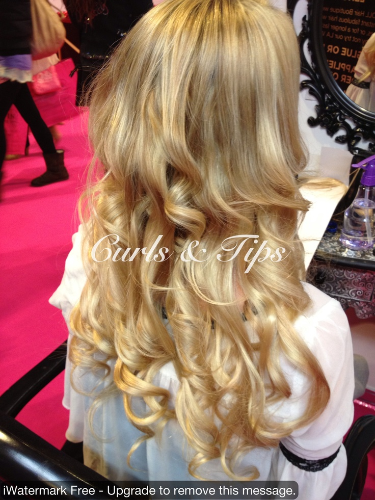 4 tracks of weave hair extensions fitted for volume and length then and styled.http://www.facebook.com/Hairbyangie.extensions?ref=hl  to achieve this curl  use a Remington pearl curling wand and use your fingers to separate the curls and use light holding spray.