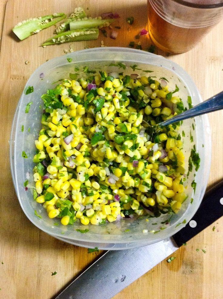 Cilantro Corn Salsa - Chipotle Copycat Recipe