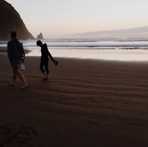 with-grace-and-guts:  Cannon Beach // Chris Mueller