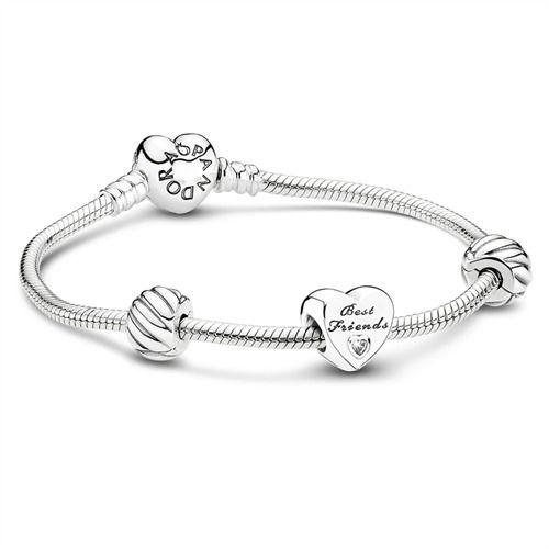 Pandora Friends Forever Aktions-Set inkl. Bead https://www.thejewellershop.com/Pandora_Friends_Forever_Aktions-Set_inkl_Bead_i1031_67143_0.htm #silber #armband #bestfriends #geschenk #charms #pandora #herz #schmuck #jewelry
