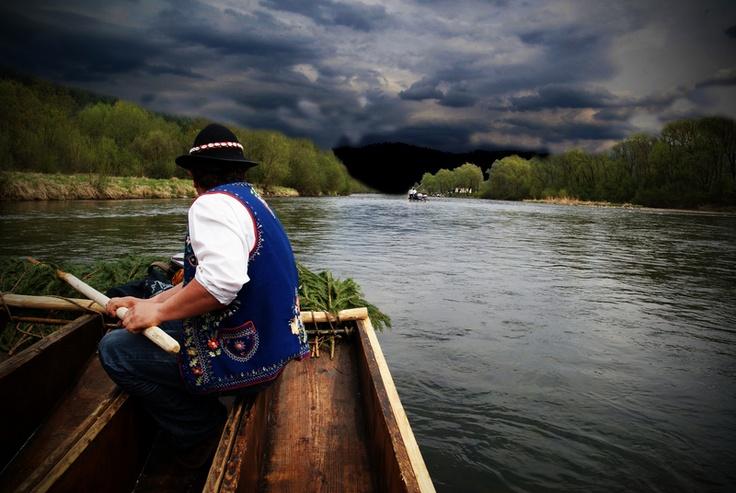 Spływ przełomem Dunajca w Pieninach