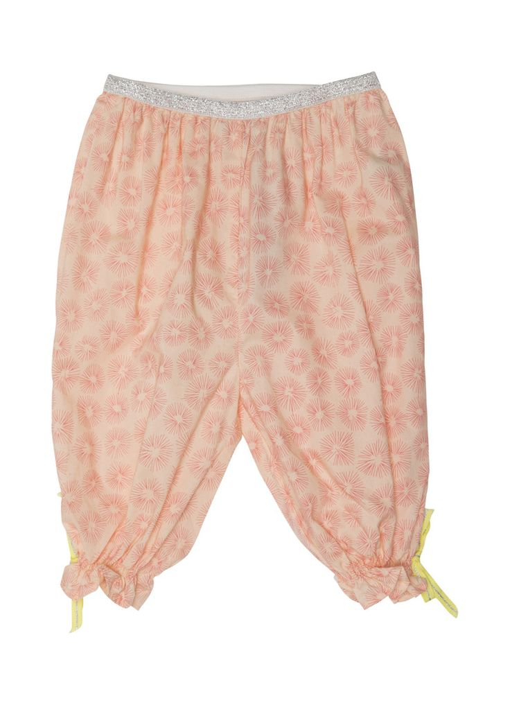 Mini A Ture Baby Girl Peach Pink Pantaloon