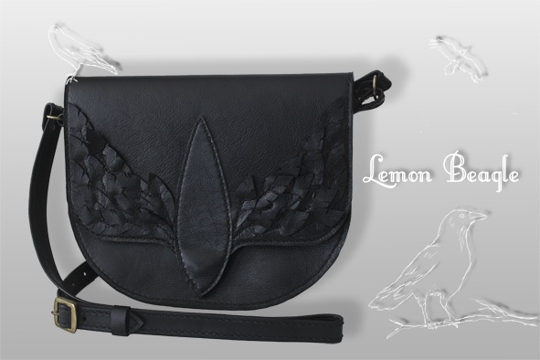 This bag is called Raven. For more info go to http://www.facebook.com/LemonBeagle