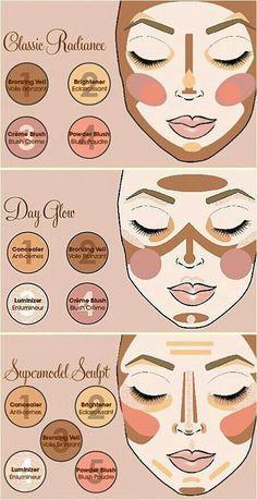 How to make those make up looks