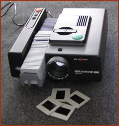 Slide projector....my favorite days in class!