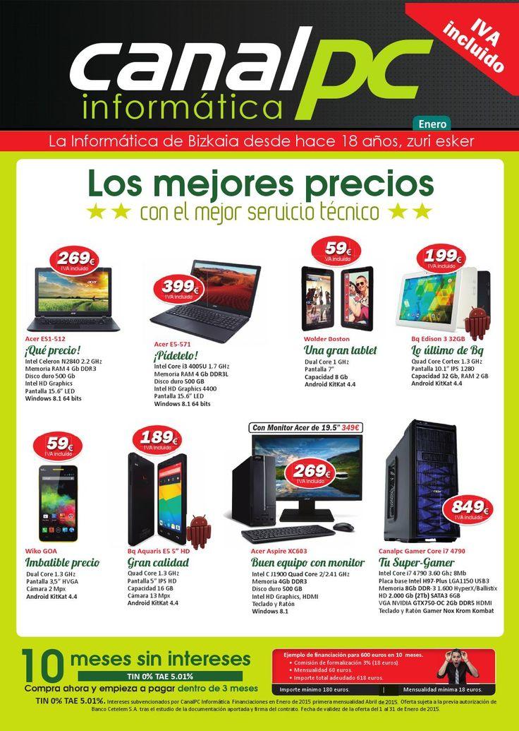 Catalogo de Canalpc Informatica Enero1 2015