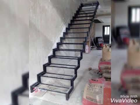 Escalier suspendu contacter 0669152224 - YouTube