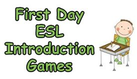 Get your students asking questions and introducing themselves with these engaging ESL introduction games for the first day of class.