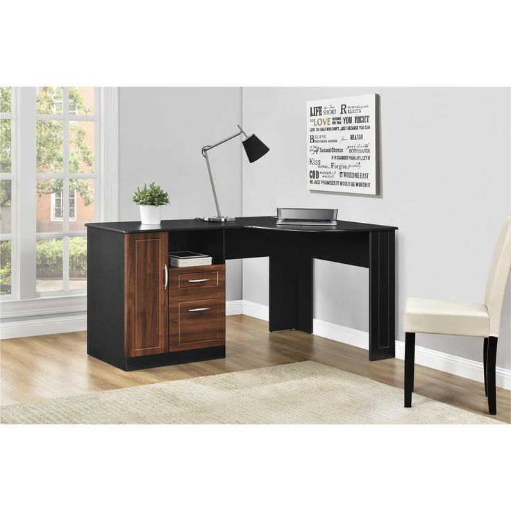 Beautiful Computer Desk best 20+ black corner desk ideas on pinterest | corner vanity