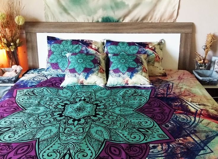how to put my art on bedding sets