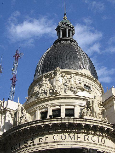En 1884 se funda el Centro Comercial, la actual Bolsa de Comercio de Rosario by lu6fpj, via Flickr