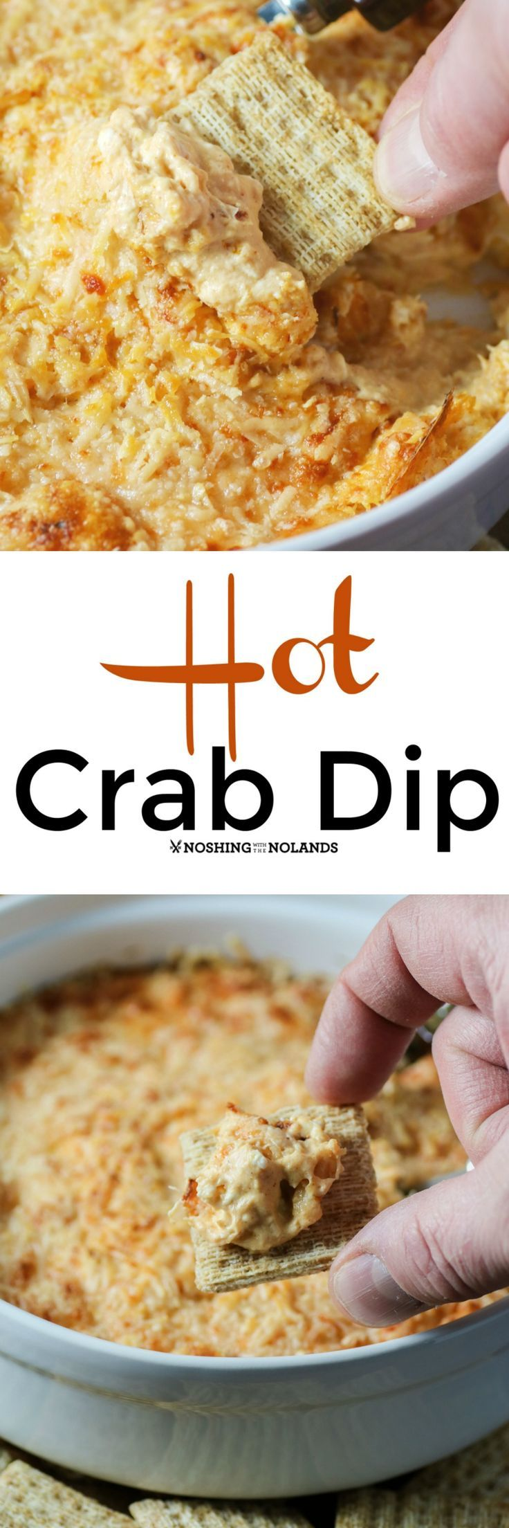 Hot Crab Dip by Noshing With The Nolands is the perfect
