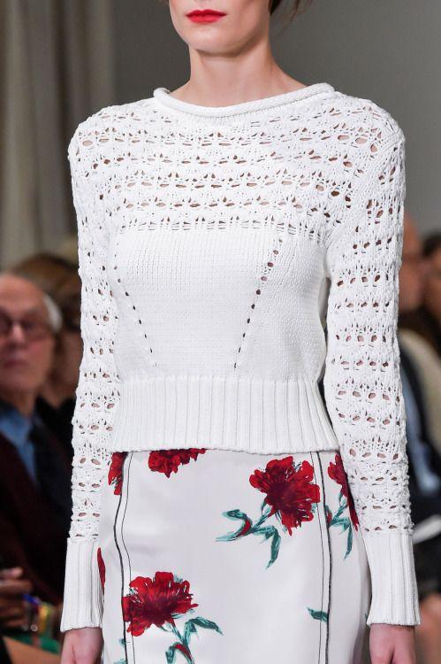 forlikeminded:    Oscar de la Renta - New York Fashion Week /...