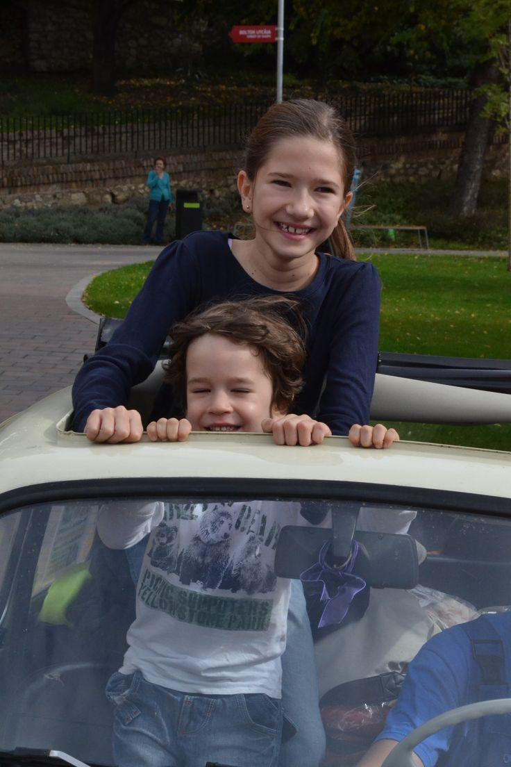 Fiat 500 + gyerek - children