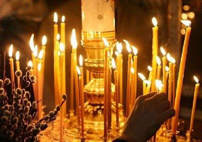 Question: Why do we light candles in the Orthodox Church?  Answer: There are typically two types of candles that Orthodox are familiar with....