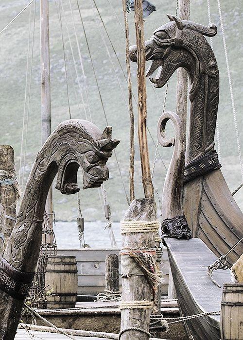 History Vikings ~ Longships