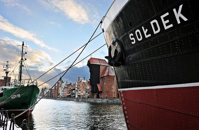 """Visit an anchored #museum of """"Sołdek"""""""