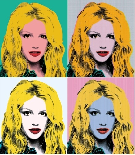 Warhol Britney SpearsPop Culture, Artists, Pop Art, Britney Bitch, Spears Pop, Andy Warhol, Warhol Britney, Girls Art, Britney Spears