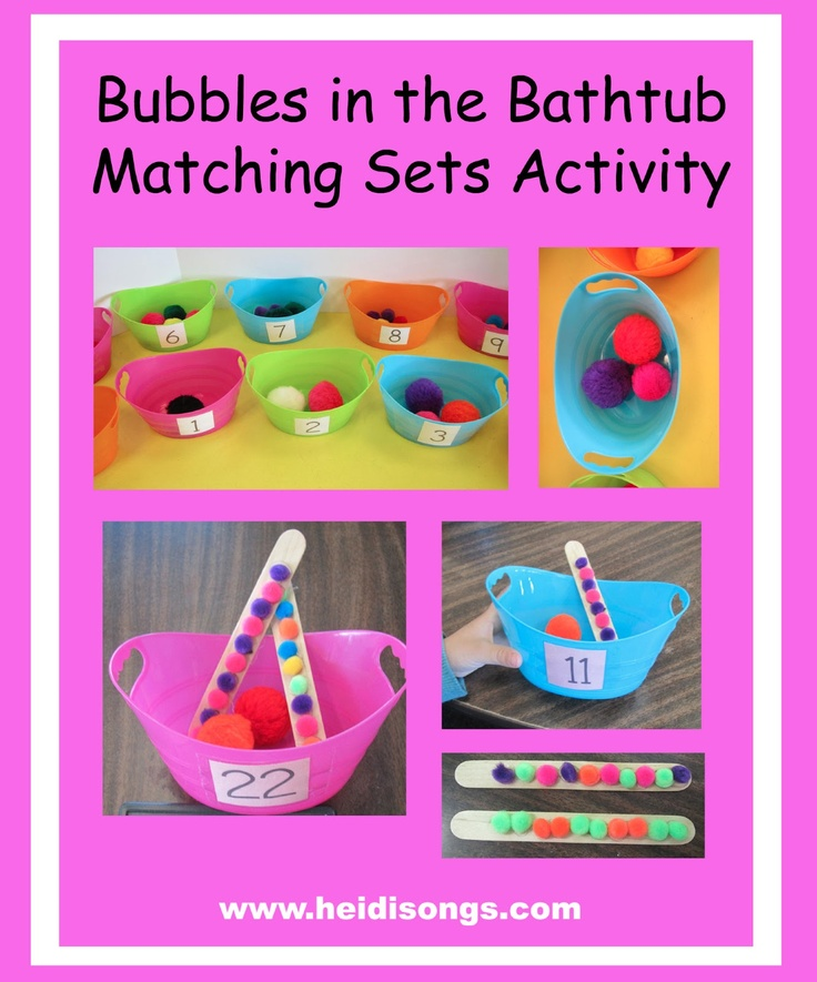 Bubbles in the Bathtub--Heidisongs Resource