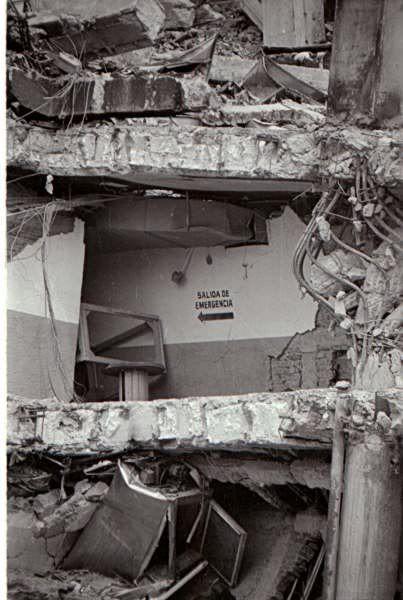 Terremoto Ciudad de México, 1985.