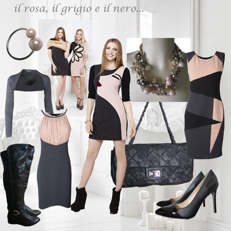 #pink, #black & #grey