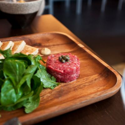 Bohemian at Japan Premium Beef is a tiny minimalist venue, with an incredible selection of beef items plus drinks. If you manage to get in, make sure you savor every second.
