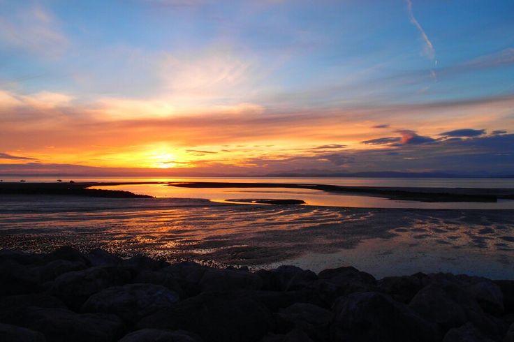 Morecambe Sunset in June