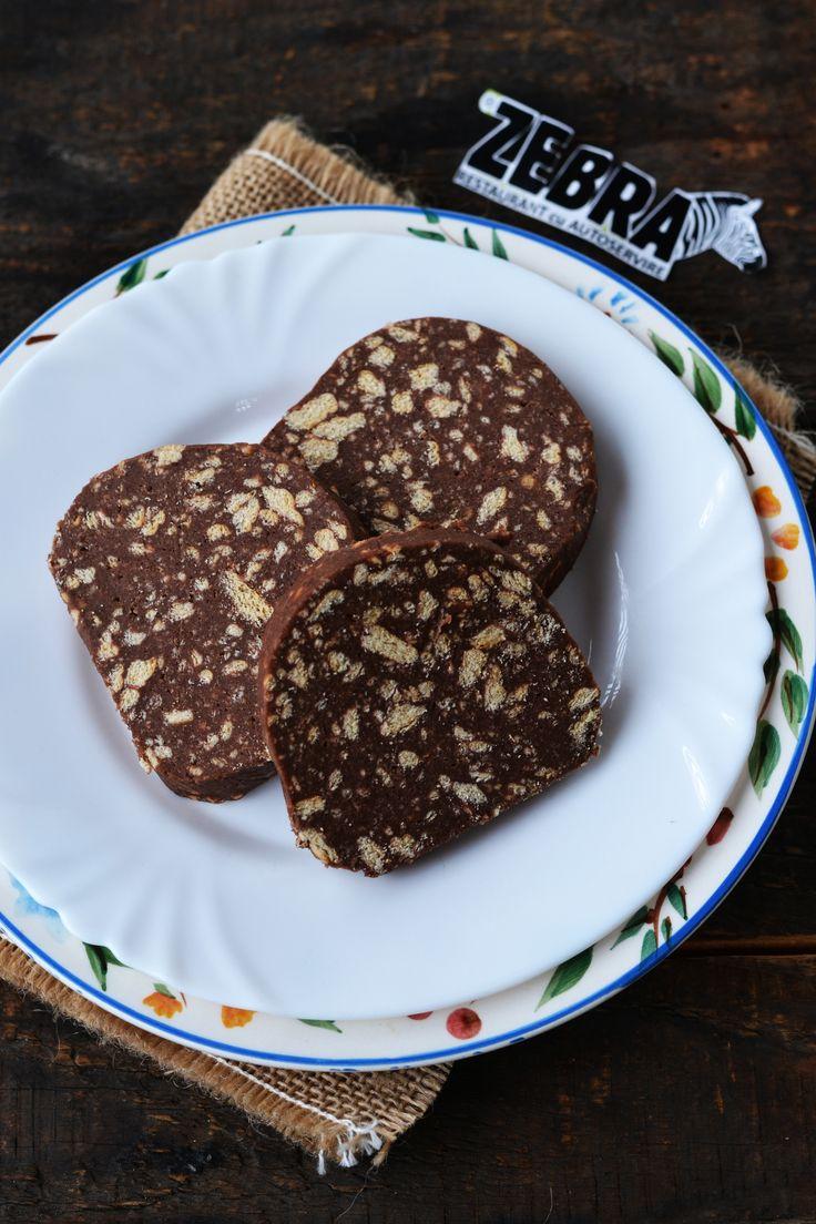 Salamul Zebra. Cu biscuiti