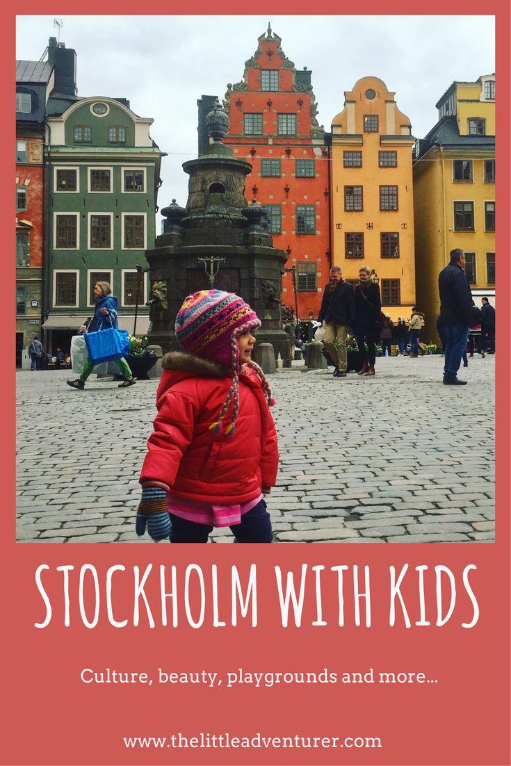 Family travel to Stockholm