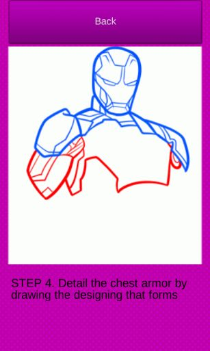 How To Draw Superheroes is a new drawing guide for everyone who are into comics, spiderman and batman movies, cartoon series and adventures. If you like to draw something and you think that drawing and painting is the best way to spend the time, How To Draw Superheroes is a drawing tutorial created just for you! This drawing app contains easy step by step instructions, so you could easily draw coloring book or draw comics by your own. Halk, superman, spiderman, iron man, captain america…