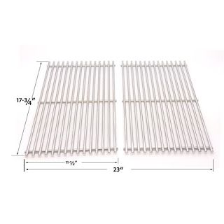 Grillpartszone- Grill Parts Store Canada - Get BBQ Parts, Grill Parts Canada: Arkla Cooking Grid | Replacement 2 Pack Stainless ...