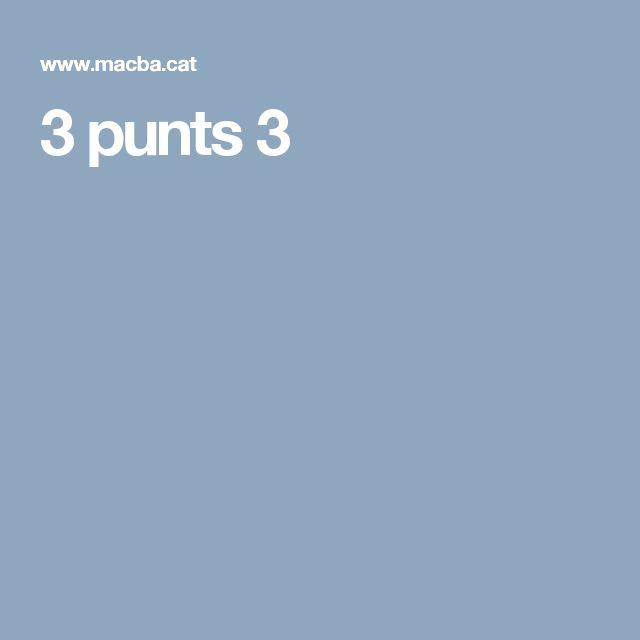 3 punts 3
