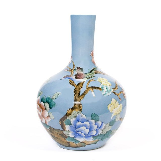 Pols Potten Vase - Handcrafted and painted