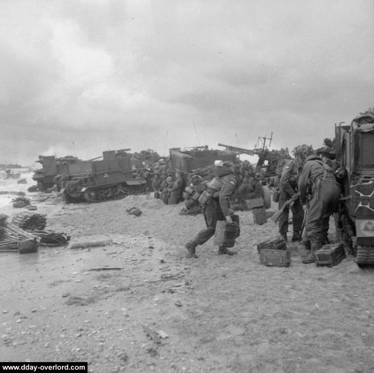 d-day footage omaha beach