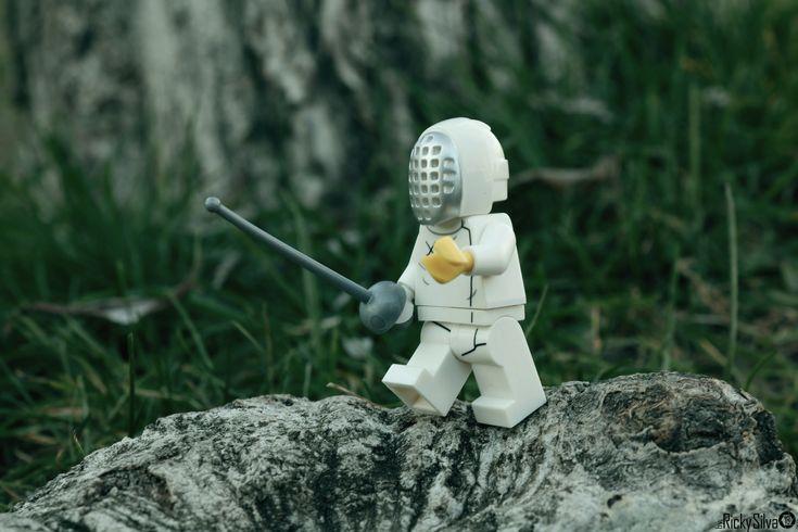 https://flic.kr/p/245RCru | [Real World] (49) The Fencer  #Canon #Comunidade0937 #Photography #LegoPhotography #LegoMinifig #Lego #Minifig #Minifigures #Legos #PhotographyLego