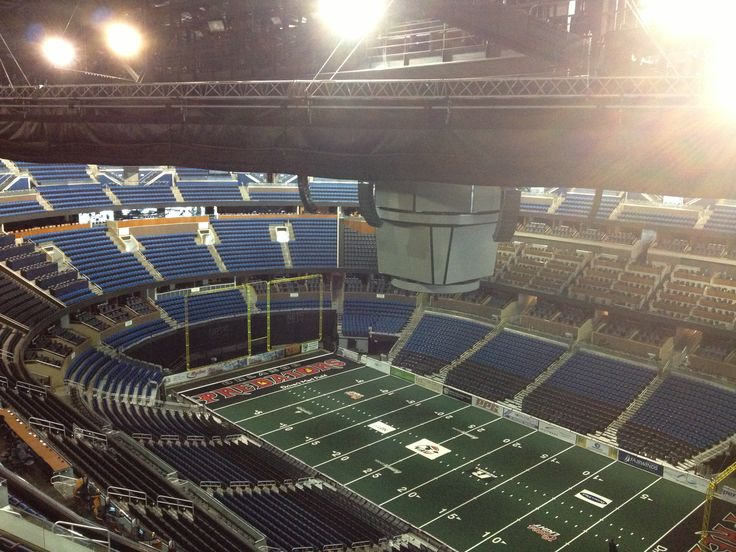 All ready for an Orlando Predators game at the Amway Center!!
