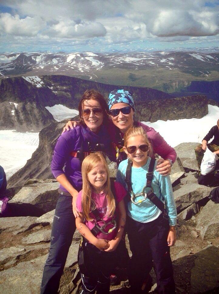 Galdhøpiggen, the highest mountain in Norway!✌️