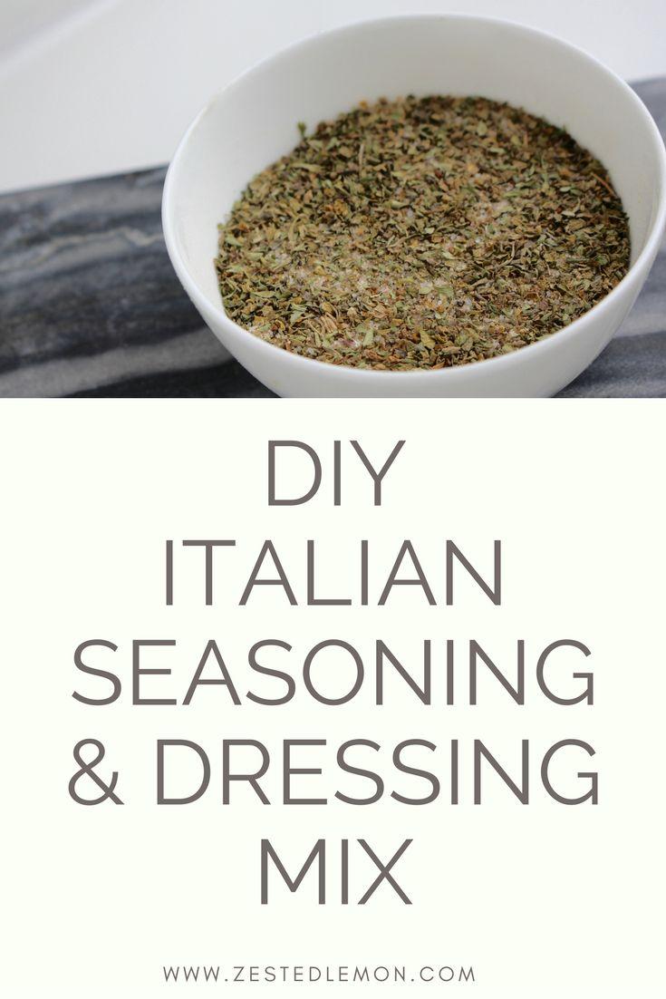 Diy Italian Seasoning And Dressing Mix Recipe Fall