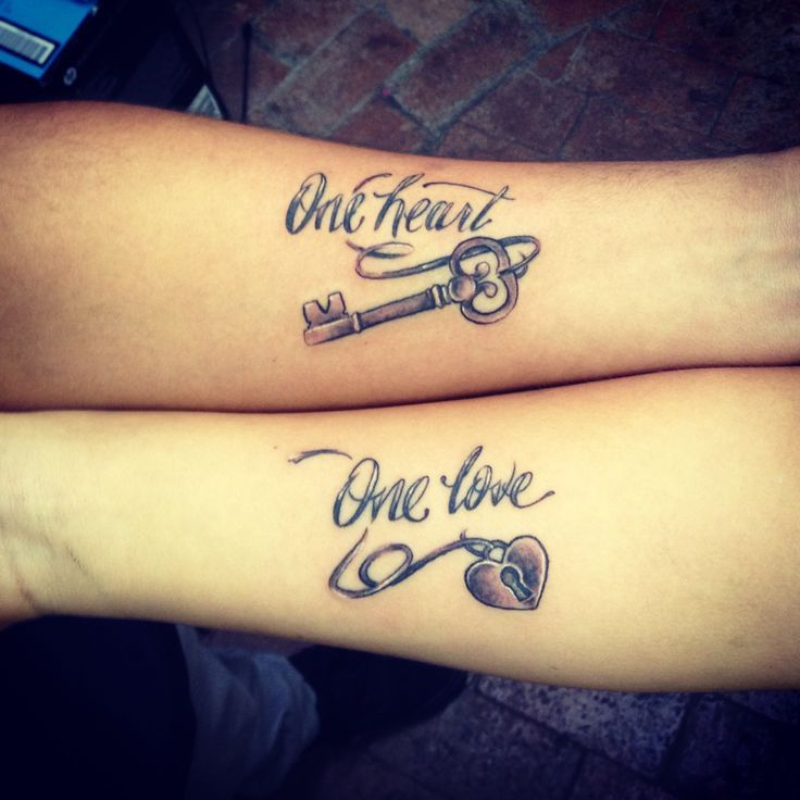 Image result for his and hers matching heart tattoos