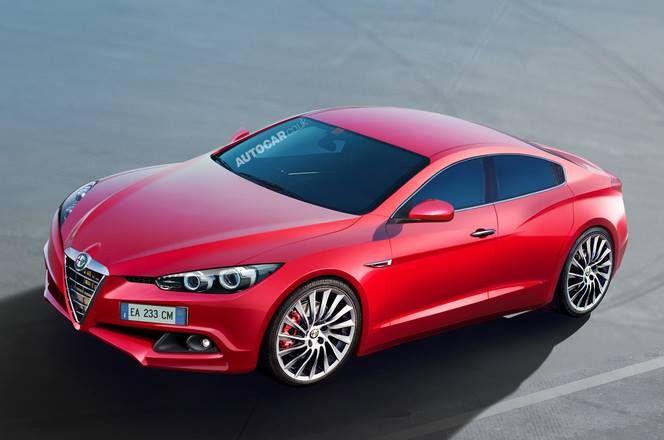 #AlfaRomeo concept car #Giulia