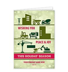29 best aec christmas images on pinterest building construction construction everywhere holiday card business christmas reheart Images