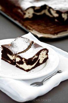 Čokoláda tvarohový koláč cesto